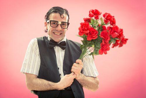 Ein Strauß rote Rosen schon zum ersten Date wirkt übereifrig
