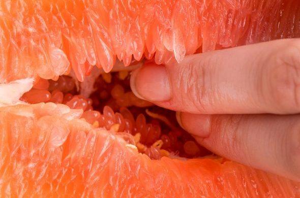 Dieses Foto erinnert an das Fingern einer Frau
