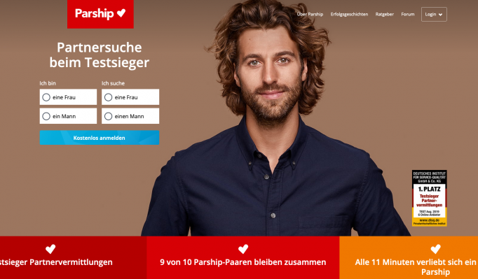 Online-Dating Singlebörse Parship